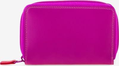 mywalit Portemonnee in de kleur Donkerlila / Neonoranje / Fuchsia / Neonrood, Productweergave