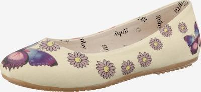 Goby Ballerinas in beige / mischfarben, Produktansicht