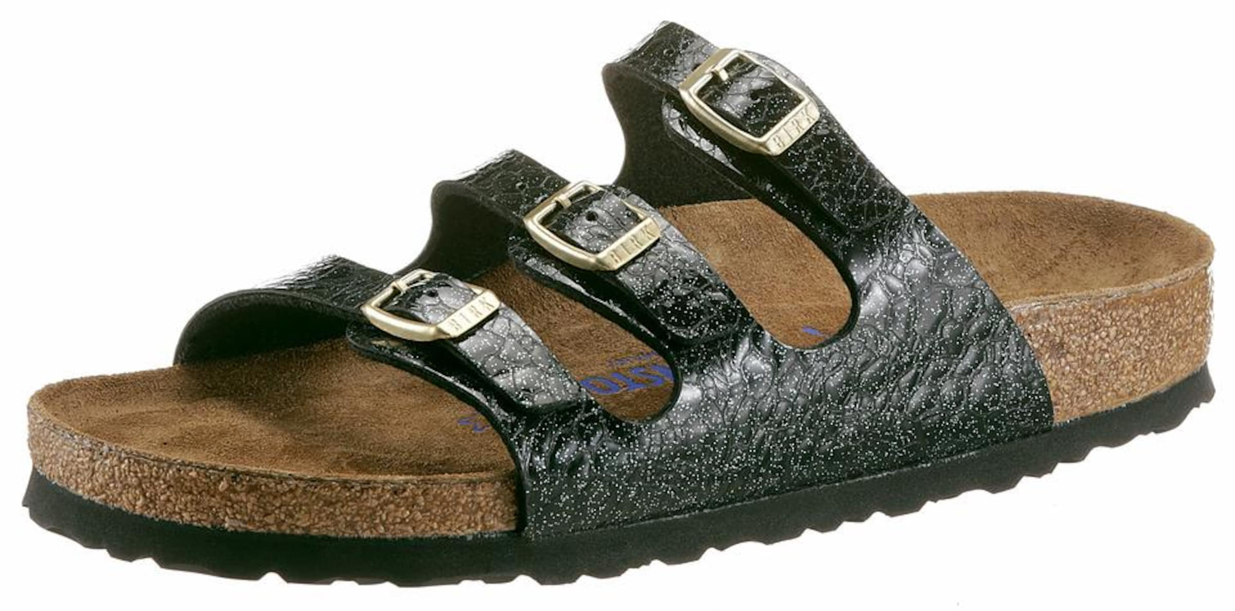 BIRKENSTOCK Pantolette FLORIDA SFB Verschleißfeste billige Schuhe