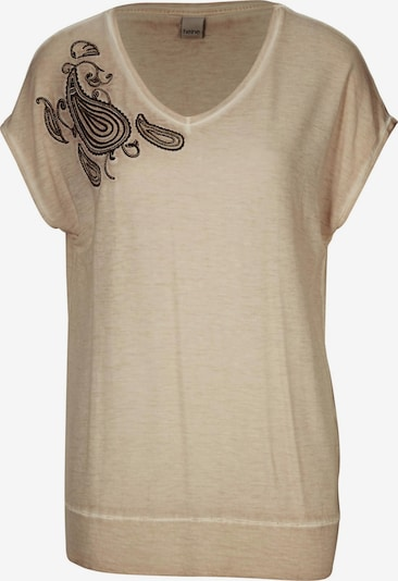 heine Shirt in beige, Produktansicht