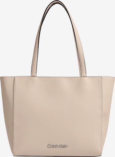 Calvin Klein Shopper in beige, Produktansicht