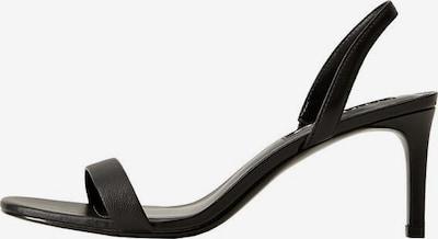 MANGO Sandaletten 'Cora' in schwarz, Produktansicht