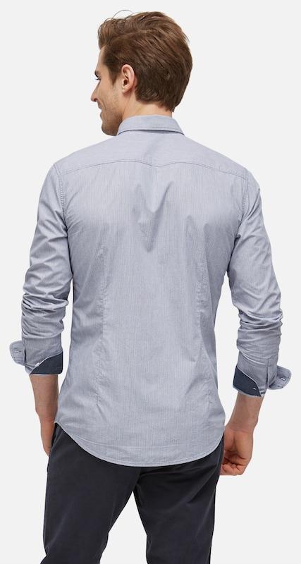 TOM TAILOR Gestreiftes Hemd mit Brusttasche