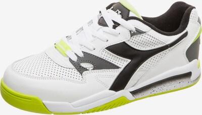 Diadora Sportschoen 'Rebound Ace' in de kleur Geel / Zwart / Wit, Productweergave