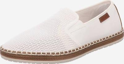 RIEKER Slipper in braun / weiß, Produktansicht