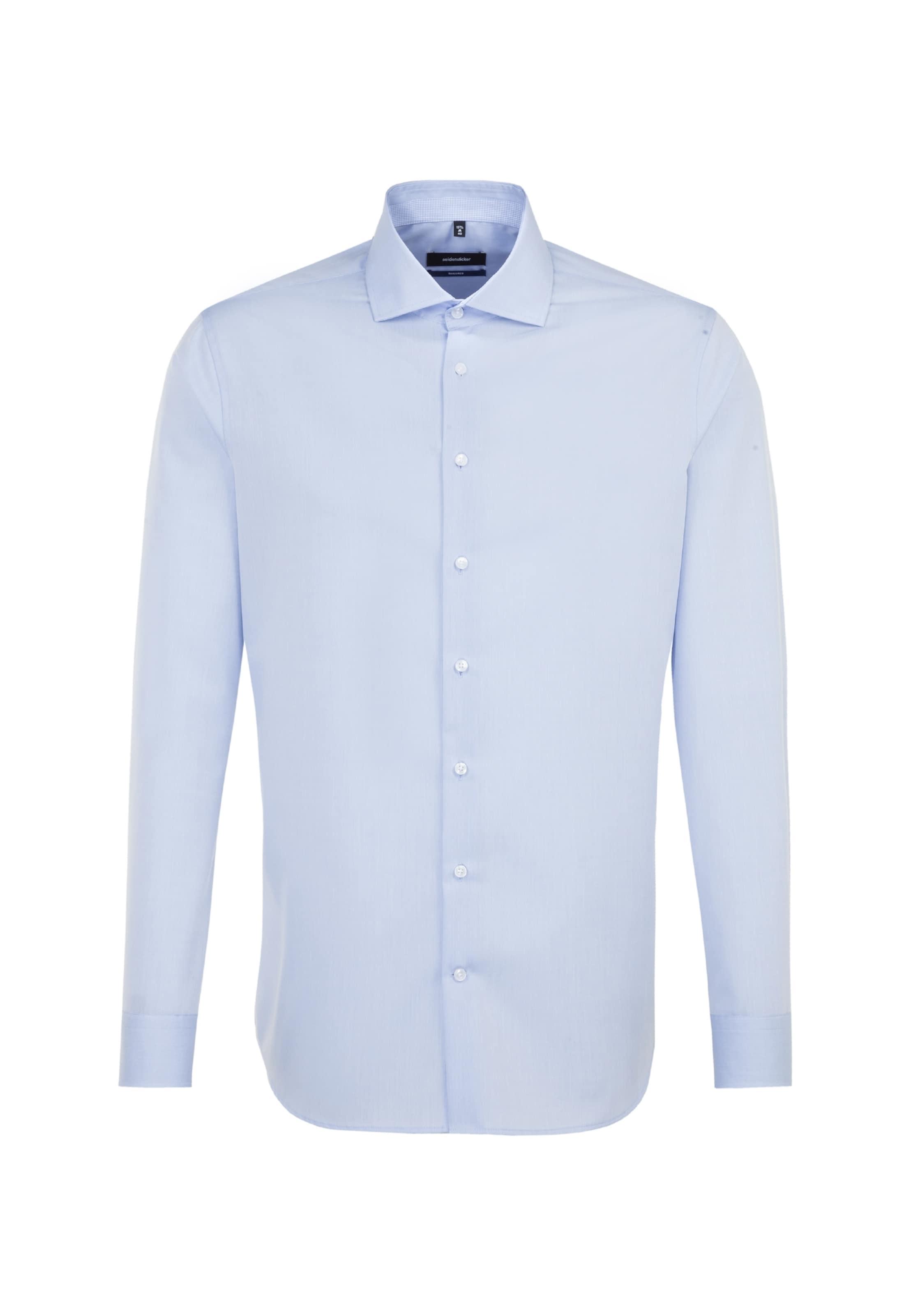 Seidensticker En Business Bleu Chemise ' Tailored Clair BCoerdx