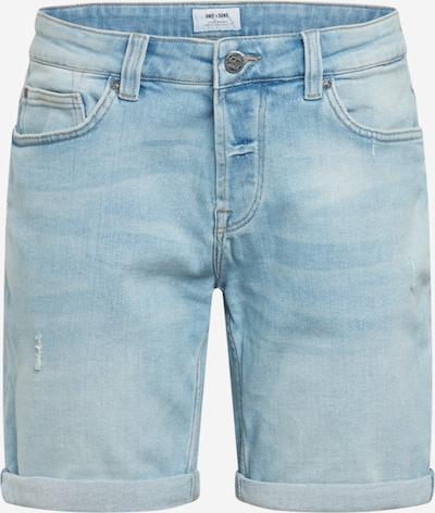 Only & Sons Jeansshorts in blau, Produktansicht