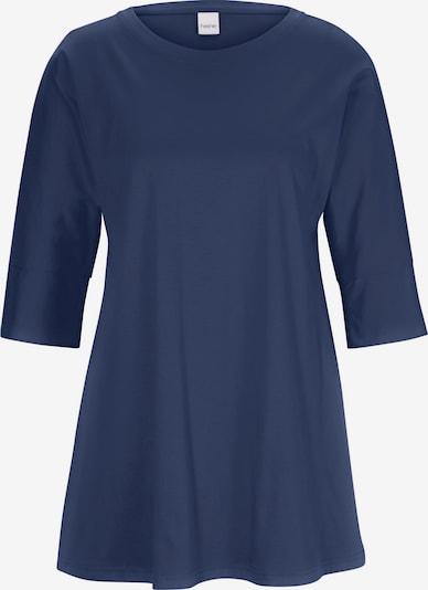 heine Longshirt in dunkelblau, Produktansicht
