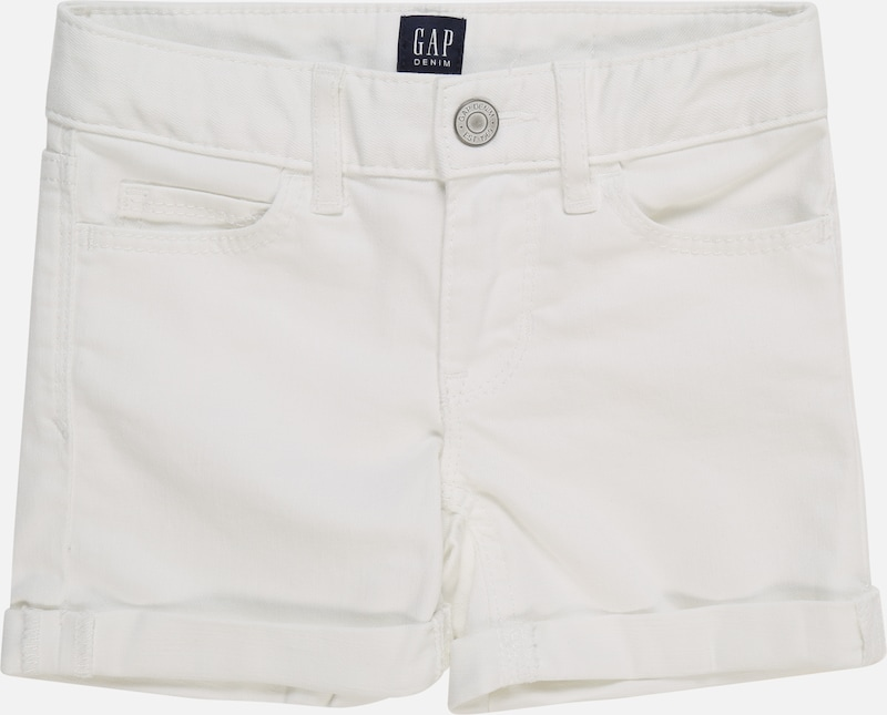 GAP Jeans 'SR WHT MIDI' in white denim, Produktansicht