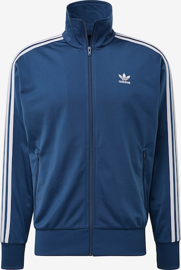 ADIDAS ORIGINALS Trainingsjacke in dunkelblau / weiß, Produktansicht