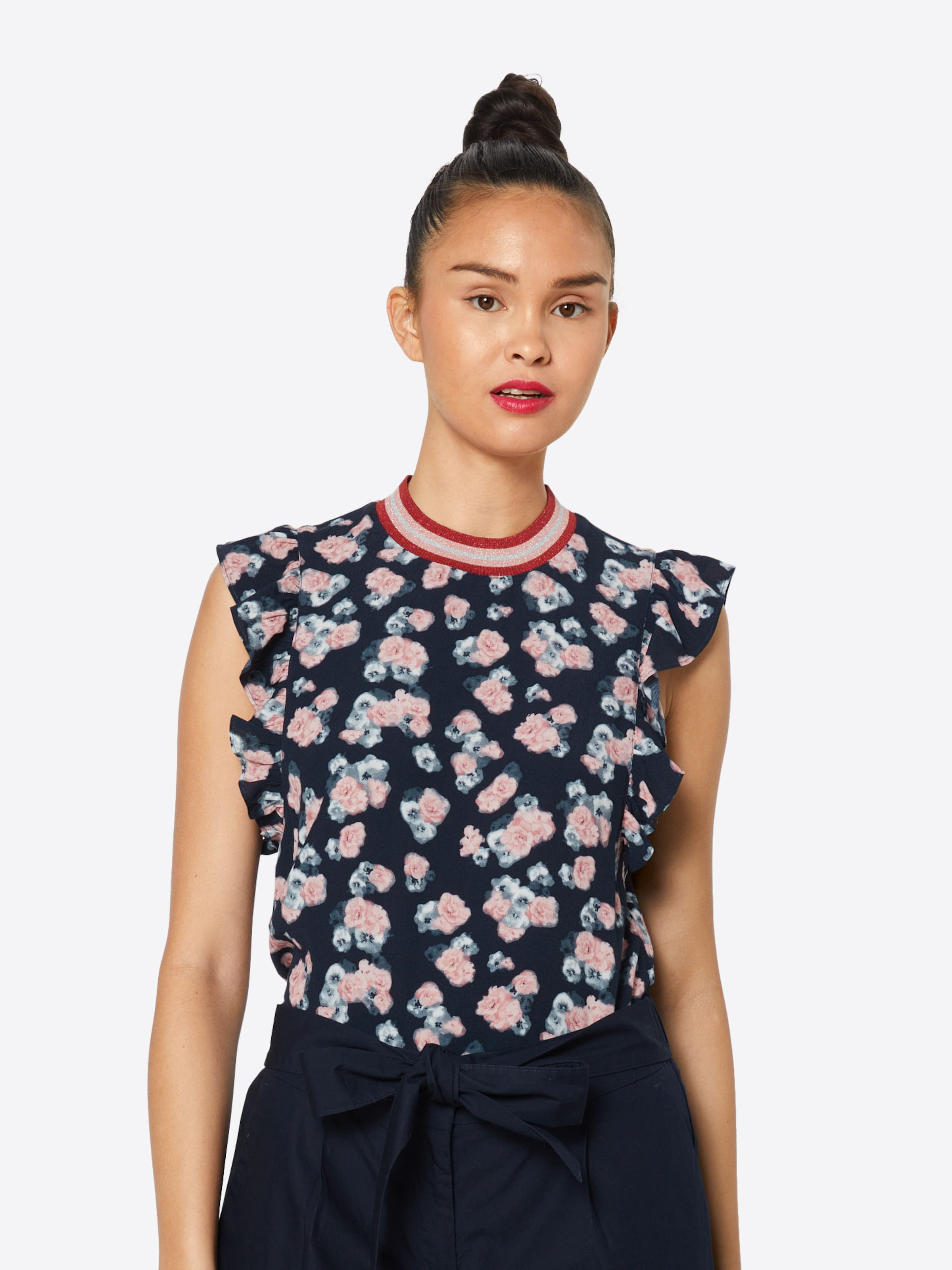 'ribcollar NachtblauRosa Blusentop Blouse' In Review QtsdhxrC