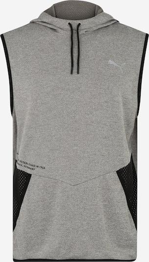 PUMA Sweat de sport 'Reactive SLVS' en gris / noir, Vue avec produit
