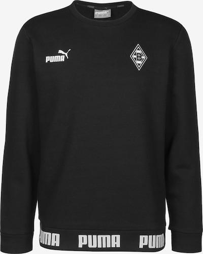 PUMA Sweatshirt 'Borussia Mönchengladbach Football Culture' in grün / schwarz / weiß, Produktansicht