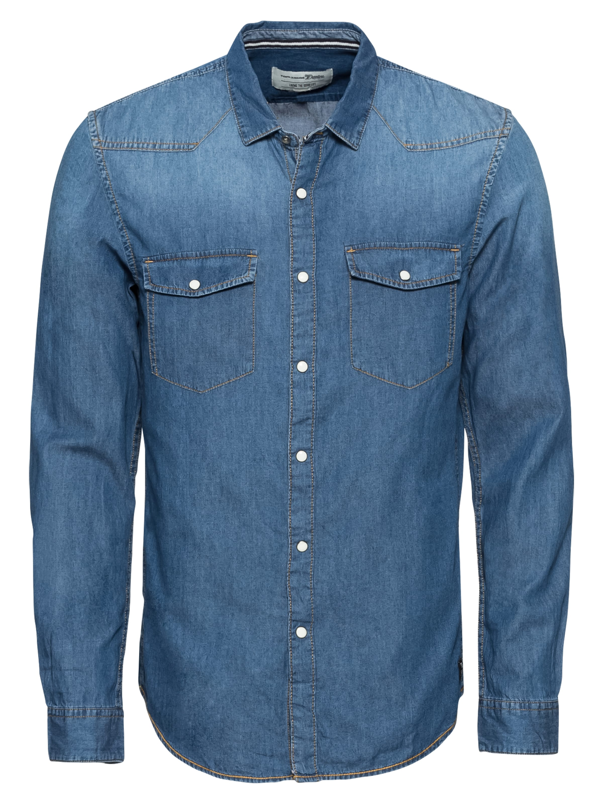 Tom Tailor Denim In Hemd Blue F1cTJ3lK