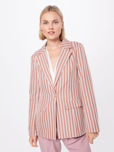 Missguided Blazer in beige / rosé, Modelansicht