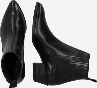 Paul Green Chelsea boots in de kleur Zwart: Zijaanzicht