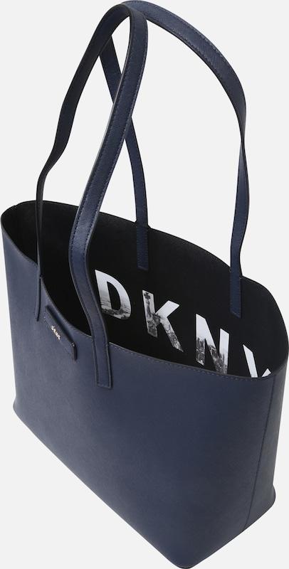 Dkny MarineNoir Reversible 'medium Totes' En Cabas Bleu 8wOn0PkX