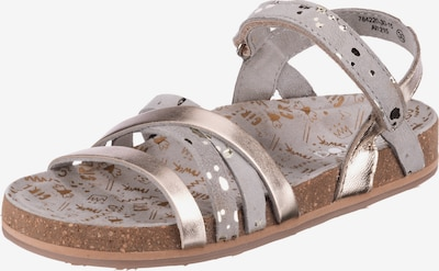 myToys-COLLECTION Sandalen 'MARIE' in braun / grau, Produktansicht