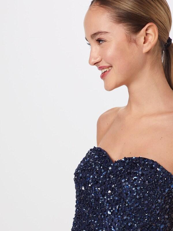 Cocktail Mascara Bleu S Couleurs 'beaded heart' En MarineMélange Robe De sCQrthd