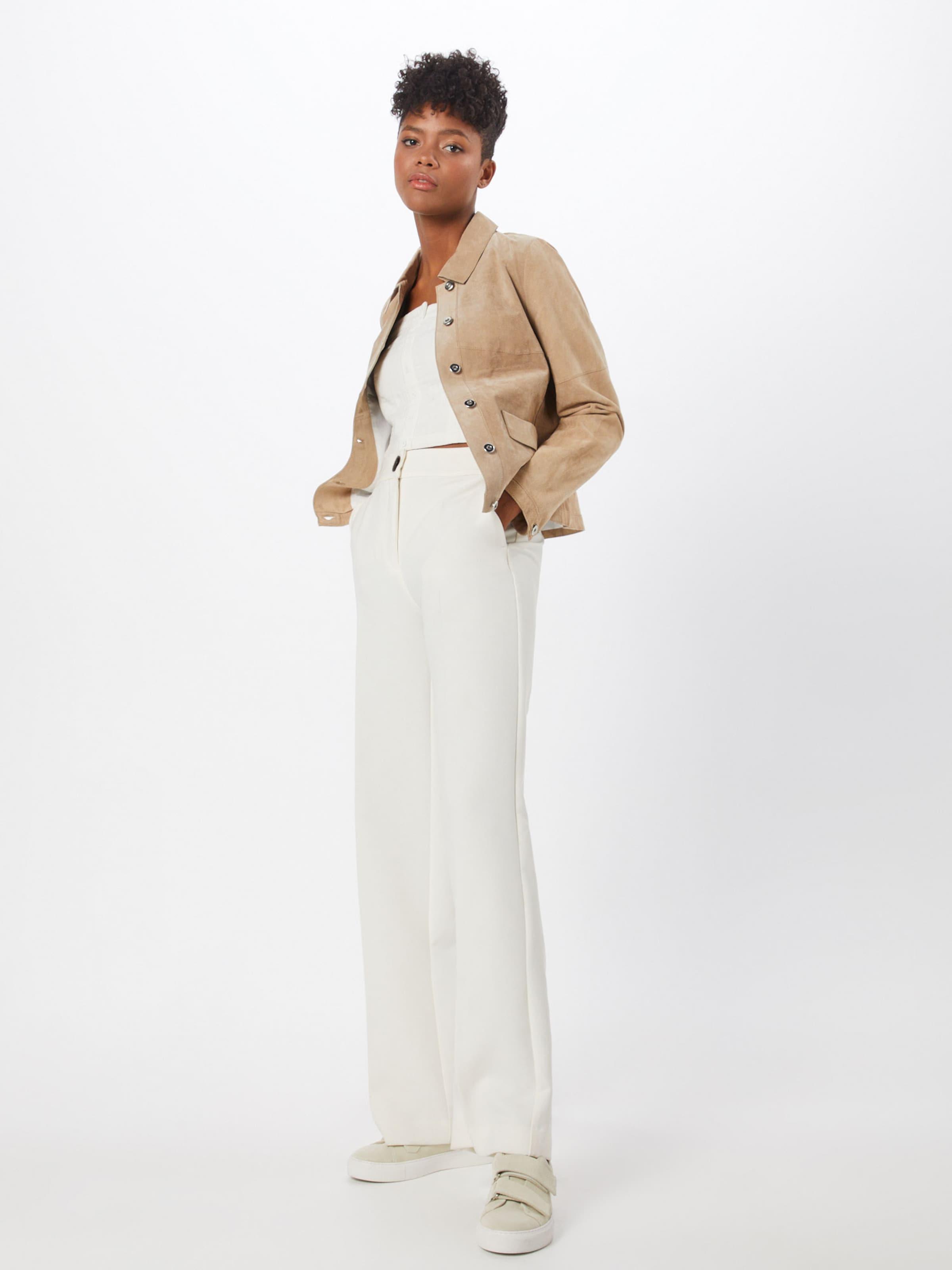 Cassé Haut Smock Review 'cropped En Blanc Bl' bfv6Y7gy