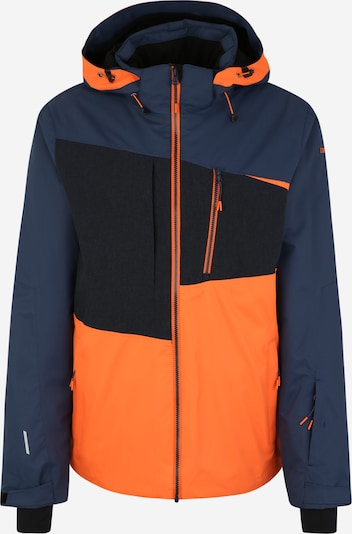 ICEPEAK Skijacke 'Carver' in navy / orange / schwarz: Frontalansicht