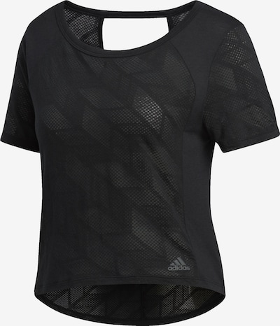 ADIDAS PERFORMANCE T-Shirt 'Burnout' in schwarz, Produktansicht