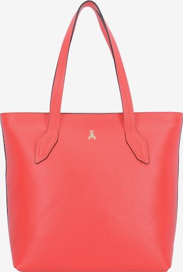 PATRIZIA PEPE Shopper Tasche Leder 34 cm in rot, Produktansicht
