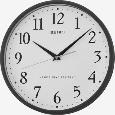 SEIKO Uhr 'QXR210K' in schwarz / weiß, Produktansicht