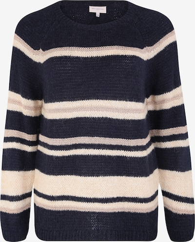 ONLY Carmakoma Sweter 'SOFIE' w kolorze ciemny niebieski / różowy pudrowym, Podgląd produktu