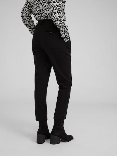 Chino stiliaus kelnės 'Machi' iš EDITED , spalva - juoda: Vaizdas iš galinės pusės