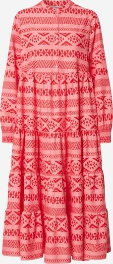 ONLY Sukienka koszulowa 'ONLLUCCA' w kolorze różowy pudrowy / czerwonym, Podgląd produktu