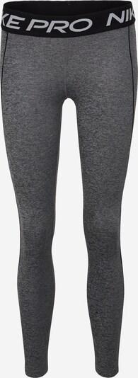 NIKE Sportbroek in de kleur Donkergrijs / Zwart, Productweergave