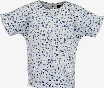 BLUE SEVEN Bluse in blau / weiß, Produktansicht