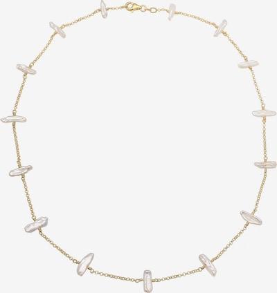ELLI Chaîne en or / blanc: Vue de face