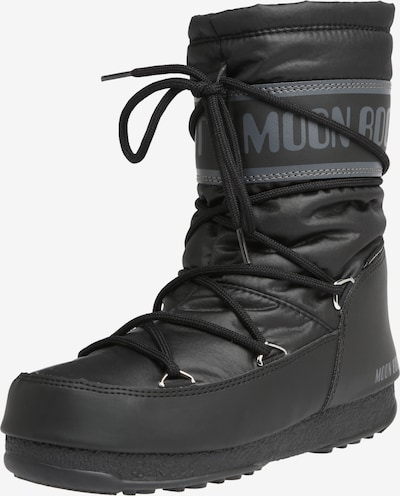 MOON BOOT Snowboots 'MOON BOOT' in grau / schwarz, Produktansicht