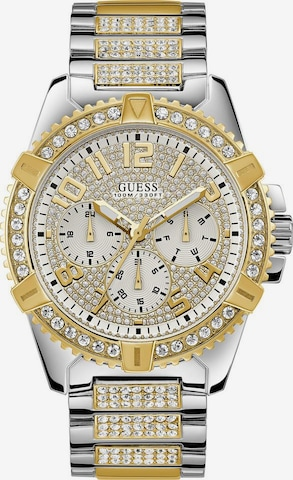 GUESS Analog Watch 'Frontier W0799G4' in Gold