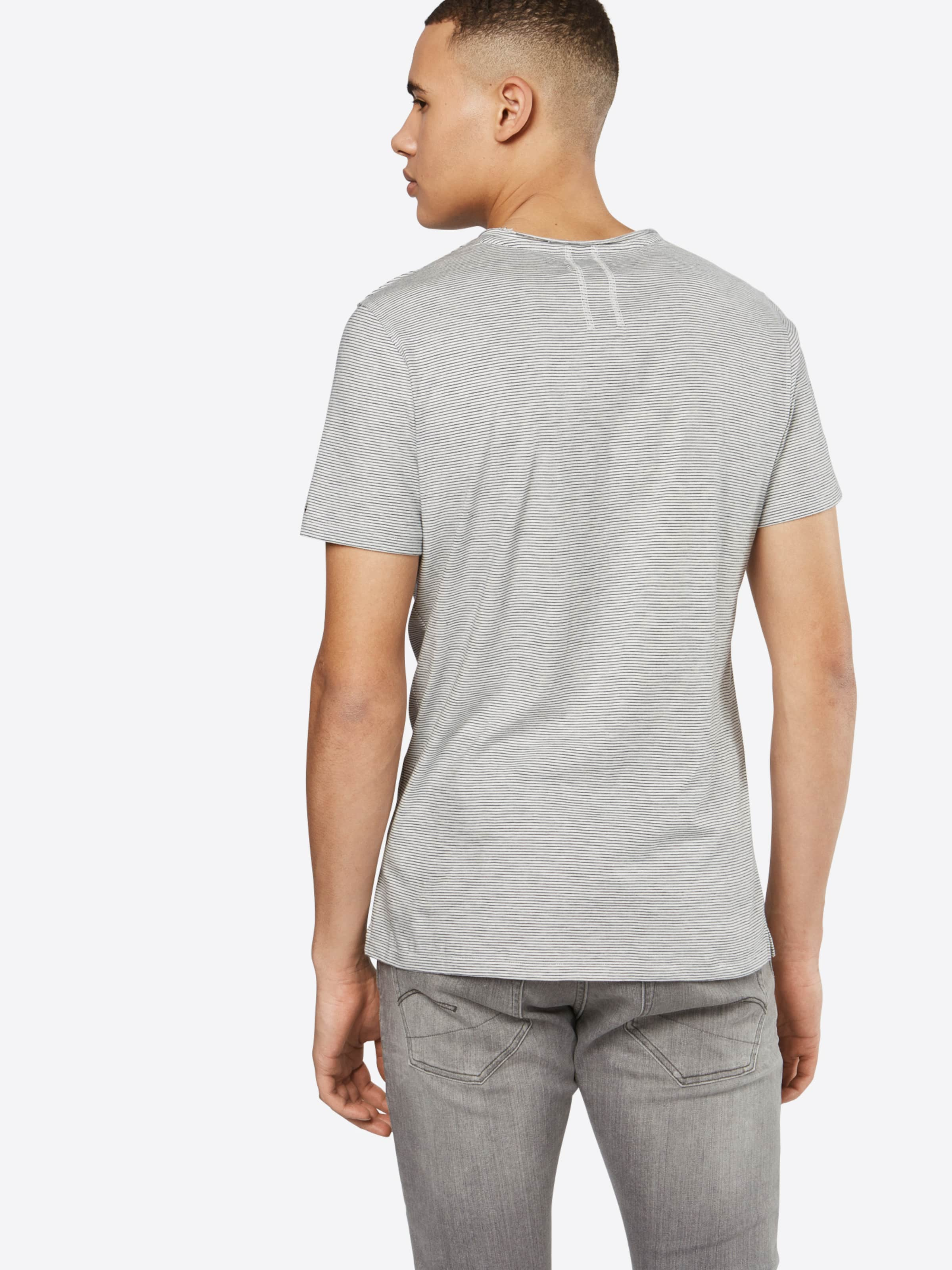 2018 Neue Billige Mode NOWADAYS Gestreiftes T-Shirt 'heather stripe' Drop-Shipping Freies Verschiffen Niedrig Kosten yZH1nO