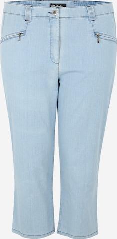 Ulla Popken Jeans 'Mony' in Blauw