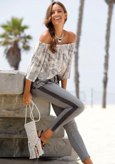 BUFFALO Jeans in grau, Modelansicht