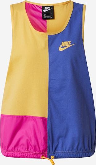 Nike Sportswear Top w kolorze żółty / fioletowy / różowym, Podgląd produktu