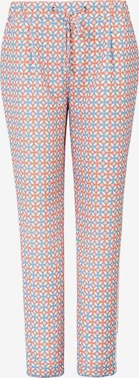 Basler Hose in rauchblau / orange / weiß, Produktansicht
