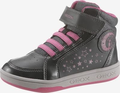 GEOX Kids Tenisice 'MALTIN' u tamo siva / roza, Pregled proizvoda