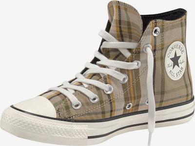 CONVERSE Sneakers hoog 'CTAS HI' in de kleur Bruin / Groen / Zwart / Wit, Productweergave