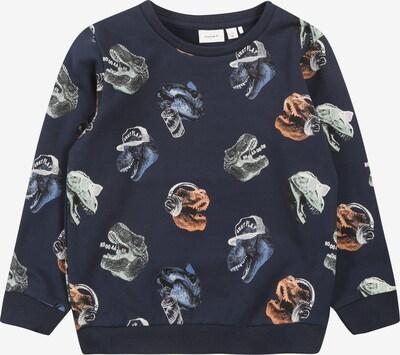 NAME IT Sweatshirt in himmelblau / dunkelblau / koralle / weiß, Produktansicht
