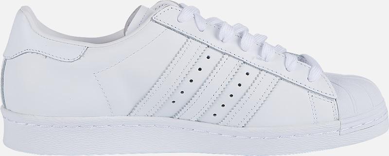 Baskets Adidas Originals 80s' Basses En Blanc 'superstar DH9I2EW
