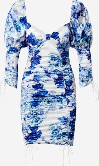 For Love & Lemons Robe 'Hyacinth' en bleu marine / blanc, Vue avec produit