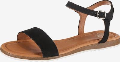 Apple of Eden Klassische Sandale 'Lara' in schwarz, Produktansicht