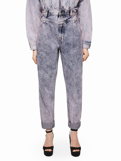 Pepe Jeans Jeans 'Dua Lipa SUMMER' in blau, Modelansicht