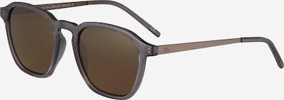 TAKE A SHOT Sonnenbrille 'Damien: Ash Crystal - Braun' in braun / transparent, Produktansicht