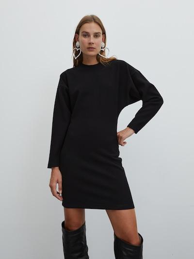 EDITED Kleid 'Jasmina' in schwarz: Frontalansicht